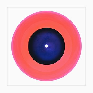 B Side Vinyl Collection, A Hot Jazz Classic (Coral), Pop Art Color Photography, 2016