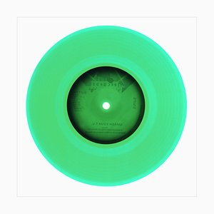B Side Vinyl Collection, Side B (Green), Contemporary Pop Art Color Photography, 2016