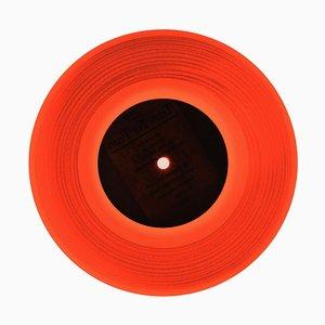 B Side Vinyl Kollektion, Idea (orange) - Contemporary Pop Art Colour Photography 2016