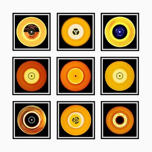 Vinyl Collection, Nine Piece and It Was All Yellow Installation, 2017