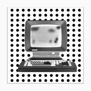 Alpha - Personal Computer Series - Black and White Graphic Photography 2017