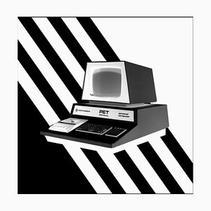 Return - Personal Computer Series - Black and White Graphic Photography 2017
