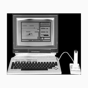 Power - Personal Computer Series - Black and White Graphic Photography 2017