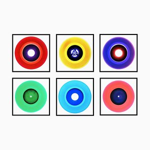B Side Vinyl Collection Six Piece Installation - Pop Art Color Photography 2017