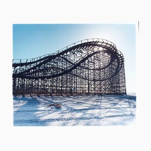 Beached Rollercoaster, Wildwood, New Jersey - Architectural Color Photography 2013