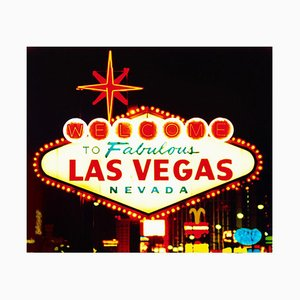 Willkommen, Las Vegas, Nevada - Americana Pop Art Farbfotografie 2001