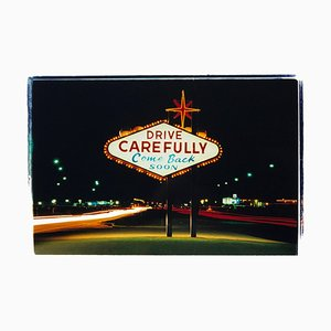 Weggehen, Las Vegas - American Sign Color Photography 2001