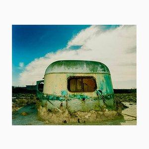 Erodiert Trailer, Bombay Beach, Salton Sea, California - American Color Photo 2003