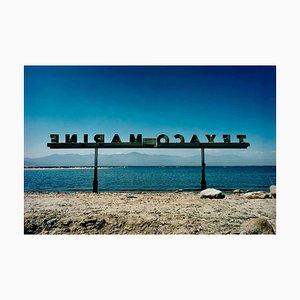 Texaco Marine, North Shore Marina, Salton Sea, Californie - Paysage américain 2002