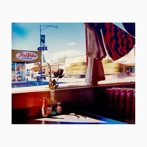 Bonanza Café, Lone Pinie, Kalifornien - Americana Colorfotografie 2003