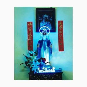Ave Maria, Ho-Chi-Minh-Stadt - Religiöser zeitgenössischer Kitsch Farbfotografie 2016