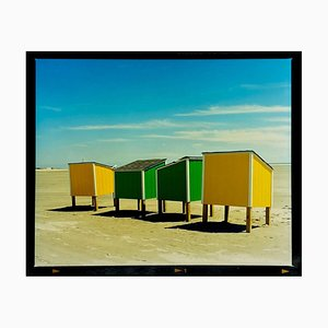 Beach Lockers, Wildwood, New Jersey - American Coastal Color Photography 2013