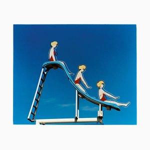 Piscine Slide, Las Vegas, Nevada - Photographie Pop Art Color, Etats-Unis, 2003