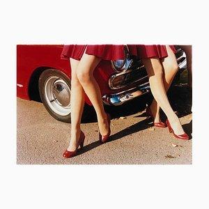 Glamour Cabs, Goodwood Revival - Photographie Mode Vintage Couleur 2009