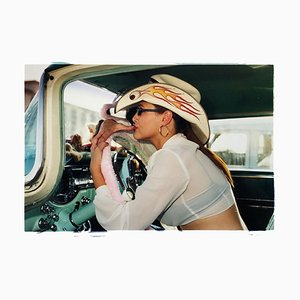 Wendy Flamin' Eyeball, Las Vegas - Contemporary Portrait Color Photography 2001