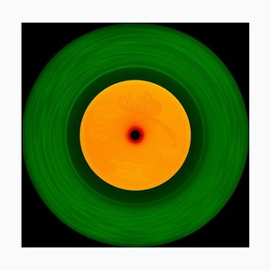 Vinyl Collection, 1981 (Green/Orange), Color Photography, 2014