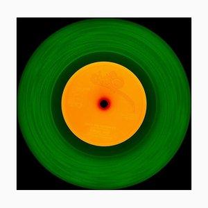 Vinyl Collection, 1981 (grün / orange) - Conceptual, Pop-art, Color Photography 2014