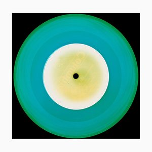 Vinyl Collection, A Hot Jazz Classic, Turquoise, Color Photography, 2017