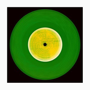 Vinyl Collection, This Side (forest Green) - Conceptual Pop Art Photography 2017