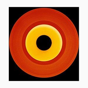 Vinyl Collection, Orange Recording - Conceptual, Color Photography, 2014