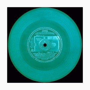 Vinyl Kollektion, Pop! (Grün), Farbfotografie, 2017
