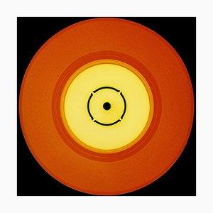 Collection Vinyl, Double B Side (orange) - Conceptual Pop Art Color Photography 2017