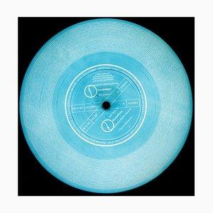 Vinyl Collection, Dies ist eine kostenlose Schallplatte (blau) - Conceptual Pop Art Photography 2014