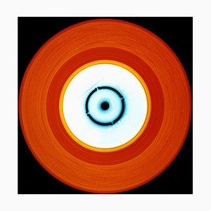 Vinyl Collection, Stereo - Rot Orange, Konzeptionell, Pop Art, Farbfotografie 2015
