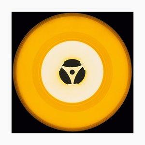 Vinyl Collection, Seventies Yellow - Conceptual, Pop Art Color Photography 2016