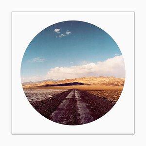 Death Valley Road, Kalifornien - Amerikanische Landschaft Farbfotografie 2000-2017