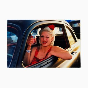 Lisa - Dragstrip Girl, Las Vegas - Contemporary Portrait Color Photography 2001