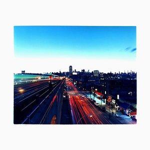 Linien auf der Linie 7, New York - Skyline, Stadtbild, Farbfotografie 2013