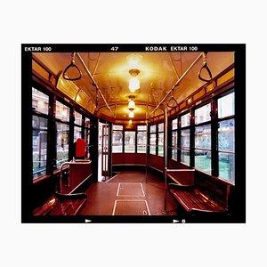 Straßenbahn, Mailand - Italienische Farbfotografie 2019