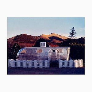 Rv in der Morgensonne, Bisbee, Arizona - American Color Photography 2001