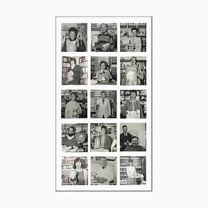 A Nation of Shopkeepers - Black and White, Portrait Photography 1985