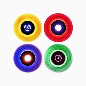 Vinyl Collection, 12 B Side Compilation, Pop Art Color Print, 2016