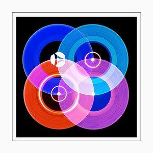 Collection Vinyl, A Side Recording - Pop Art Color Photography 2016