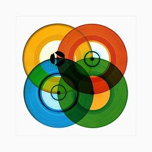B Side Vinyl Collection, B Side Recording, Pop Art Color Print, 2016