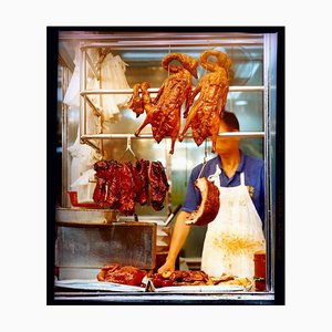 Richard Heeps, Crispy Duck, Kowloon, Hong Kong, Color Street Photographic Print, 2016