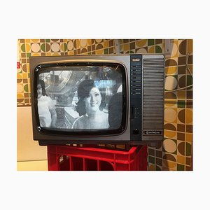 Richard Heeps, Hitachi Tv, Hong Kong, Impression photo couleur Pop Art, 2016
