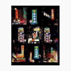 Richard Heeps, Nachschlagen Mong Kok, Kowloon, Hongkong, Konzeptioneller Architekturfotografiedruck, 2016