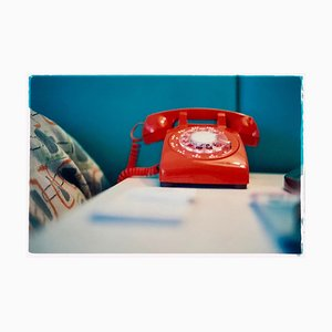 Richard Heeps, Telephone Vi, Ballantines Movie Colony, Palm Springs, California, Lámina fotográfica, 2002