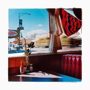 Richard Heeps, Bonanza Café, Lone Pine, California, Lámina fotográfica en color estadounidense, 2000