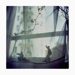Richard Heeps, Snake Dips Down, Hong Kong, Lámina fotográfica asiática contemporánea en color, 1990