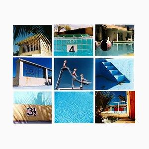 Richard Heeps, Dream in Color, Instalación de piscinas, Lámina fotográfica American Blue Color, 2001-2017