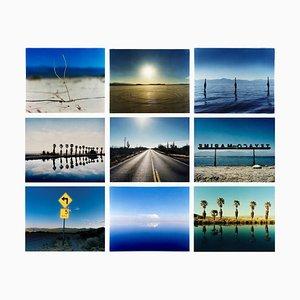 Richard Heeps, Installation der Wüstenoase, Farbfotografiedruck für Wasserlandschaften und Landschaften, 2000-2003