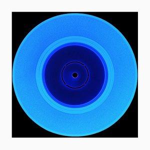Vinyl Collection, Double B Side Blue - Conceptual Pop Art Color Photography 2020