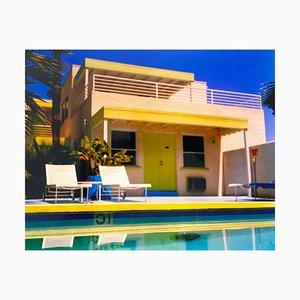 Richard Heeps, Palm Springs Poolseite I, Kalifornien, Farbfotografiedruck der amerikanischen Architektur, 2000
