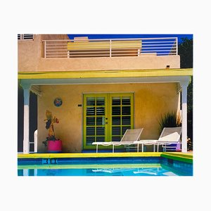 Richard Heeps, Palm Springs Poolside Ii, California, American Architecture Color Photographic Print, 2000