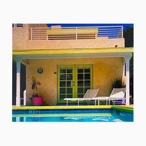 Richard Heeps, Palm Springs Poolside II, Kalifornien, Amerikanische Architektur Farbfotografie, 2000
